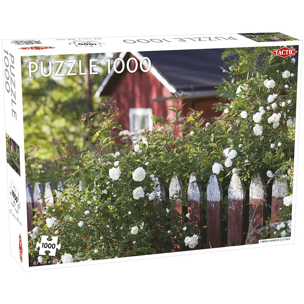 Tactic Puzzle 1000 pc Finnish Cottage