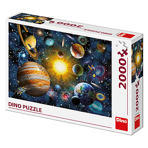 Dino Puzzle 2000 pc Planets