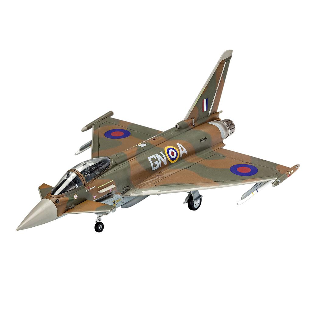 Revell plastic model 100 Years RAF: Eurofighter Typho 1:72