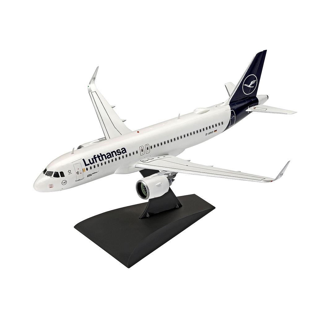 "Revell plastic model Airbus A320 Neo Lufthansa ""New Livery""  1:144"