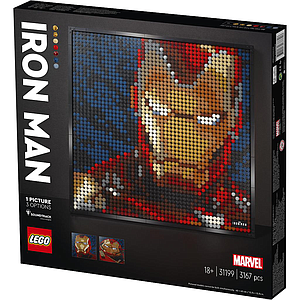 LEGO ART Marvel Studiose Raudmees