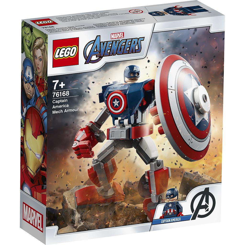 LEGO Super Heroes Captain America Mech Armour