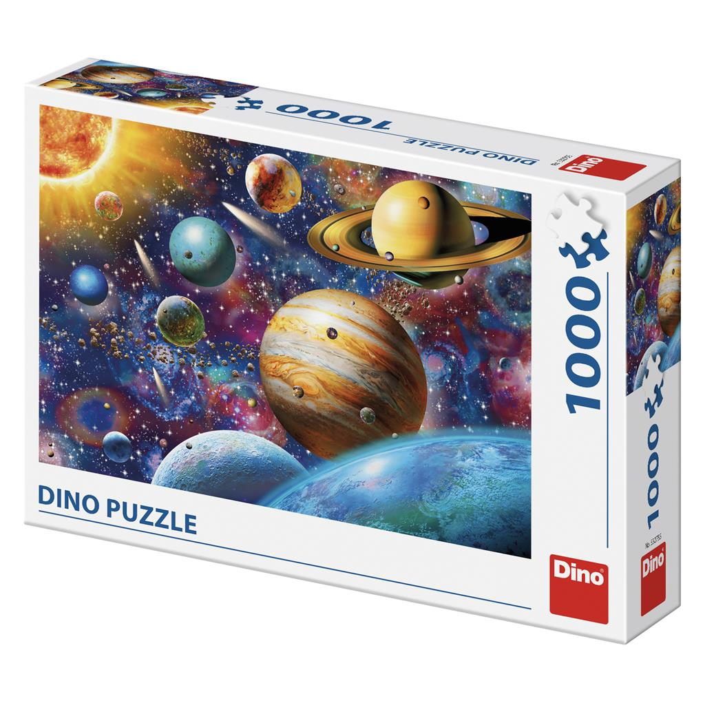 Dino Puzzle 1000 pc Planets
