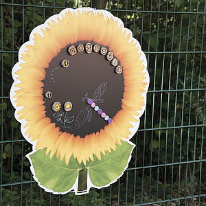 TTS Sunflower-shaped magnetic board