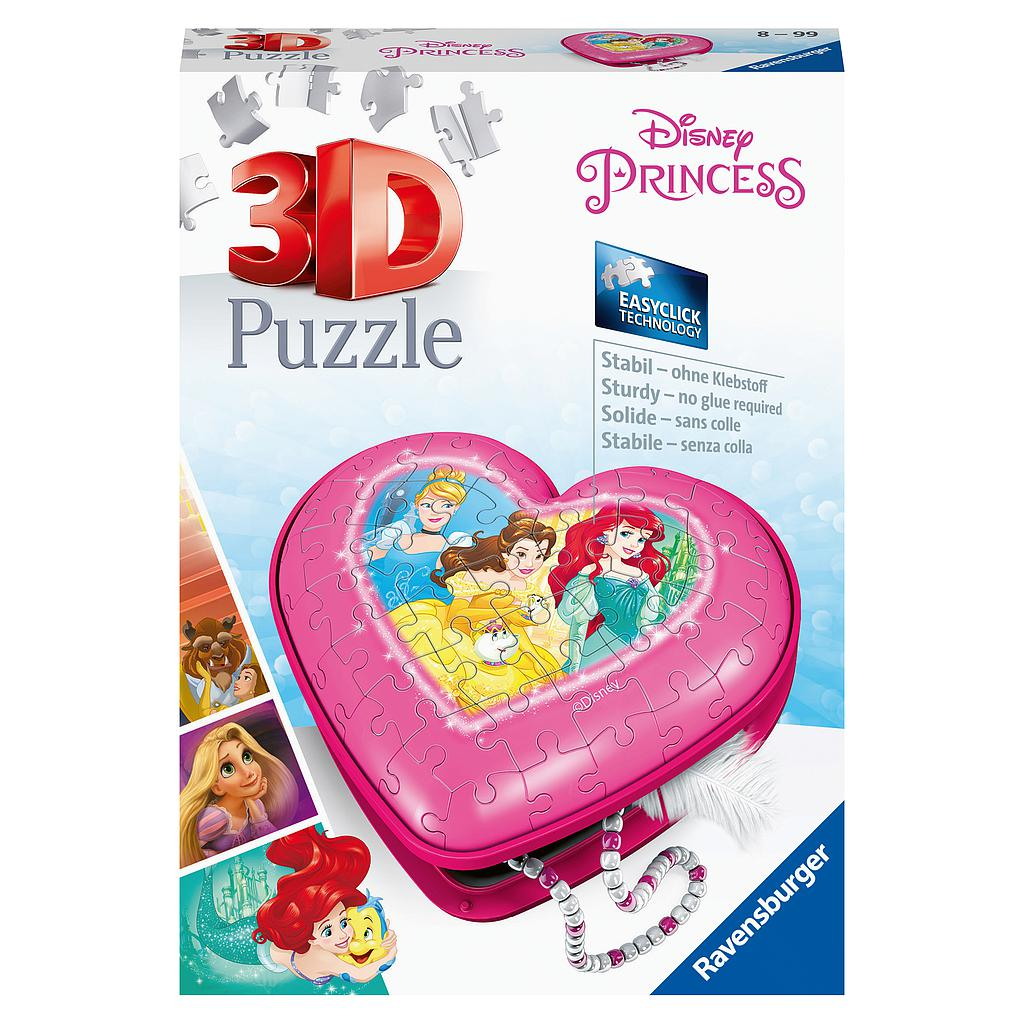 Ravensburger 3D Puzzle Disney Heart Box