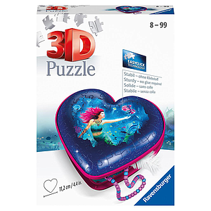Ravensburger 3D Puzzle Heart Box Mermaids