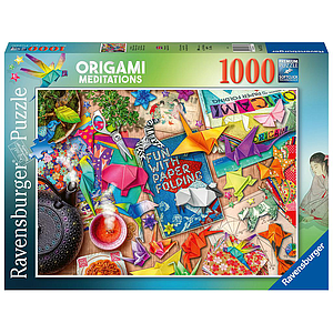 Ravensburger Puzzle 1000 pc Origami Meditations