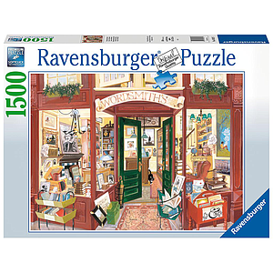 Ravensburger Puzzle 1500 pc Wordsmiths Bookshop