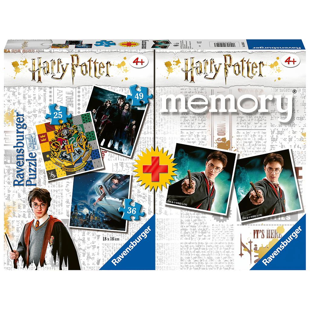 Ravensburger Board Game Memory+ Puzzle Harry Potter