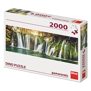 Dino Puzzle 2000 pc Plitvice Waterfalls