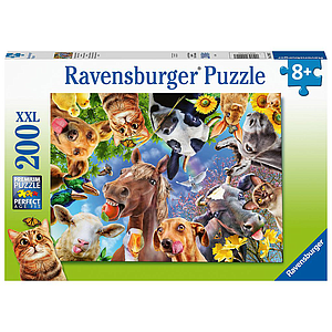 Ravensburger XXL Puzzle 200pc Funny Animals