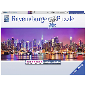 Ravensburger Panorama Puzzle 1000 pc Manhattan Lights