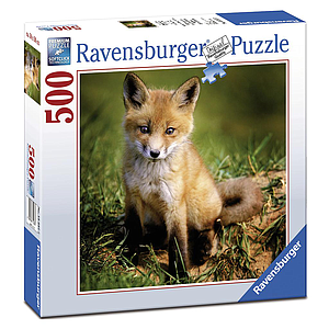 Ravensburger Puzzle 500 pc Baby Fox
