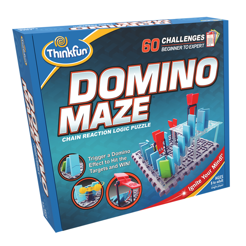 ThinkFun Board Game Domino Labyrinth