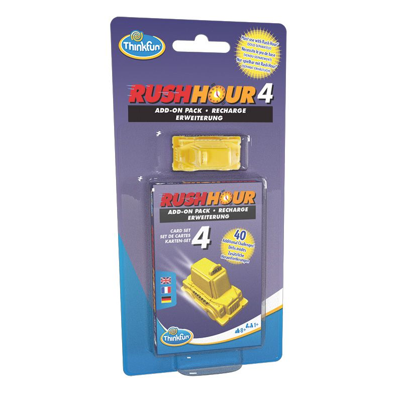 ThinkFun Rush Hour® 4 – Expansion Pack