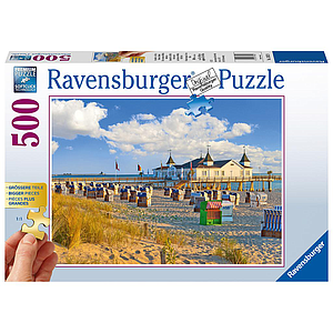 Ravensburger Puzzle 500 pc Beach Baskets in Ahlbeck