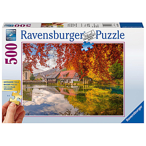 Ravensburger Puzzle 500 pc Peaceful Mill