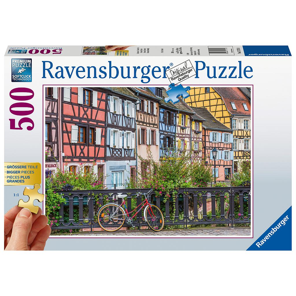 Ravensburger Puzzle 500 pc Colmar, France