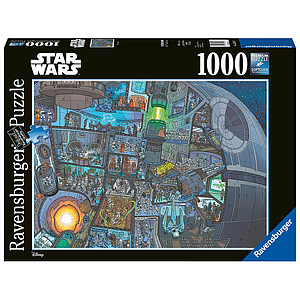 Ravensburger Puzzle 1000 pc Where is Wookie?