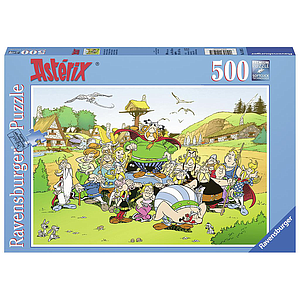 Ravensburger Puzzle 500 pc Asterix: The village