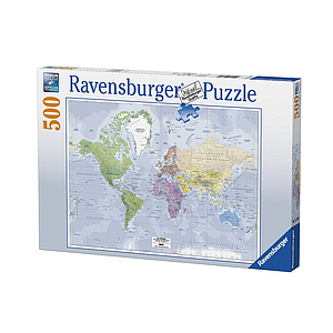 Ravensburger Puzzle 500 pc Map of the World