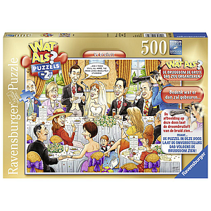 Ravensburger Puzzle 500 pc Wedding