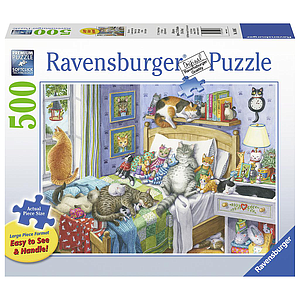 Ravensburger Puzzle 500 pc Cat Nap