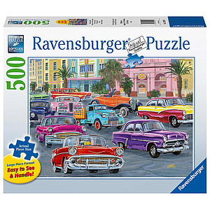Ravensburger Puzzle 500 pc Cruis'in