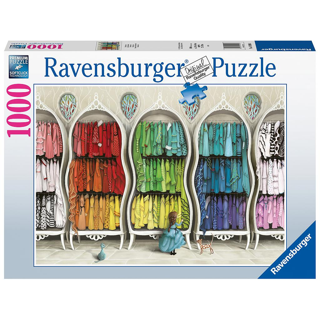 Ravensburger Puzzle 1000 pc Amazing Fashion