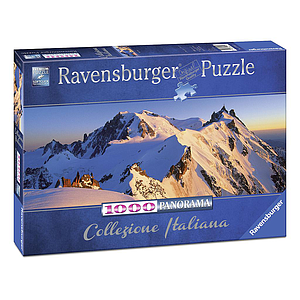 Ravensburger Panorama Puzzle 1000 pc Monte Bianco