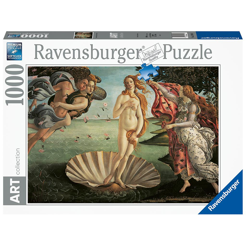 Ravensburger Puzzle 1000 pc The Birth of Venus
