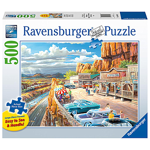 Ravensburger Puzzle 500 pc Scenic Overlook