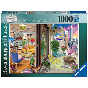 Ravensburger Puzzle 1000 pc NYC Apartment Vision