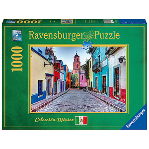 Ravensburger Puzzle 1000 pc A Street in Mexico