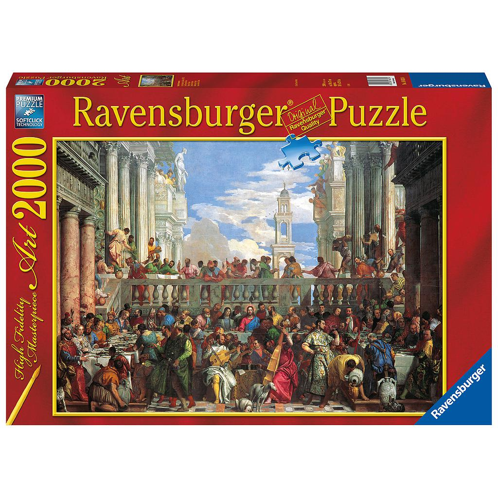 Ravensburger Puzzle 2000 pc Wedding At Cana