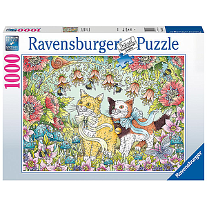 Ravensburger Puzzle 1000 pc Kitten friendship