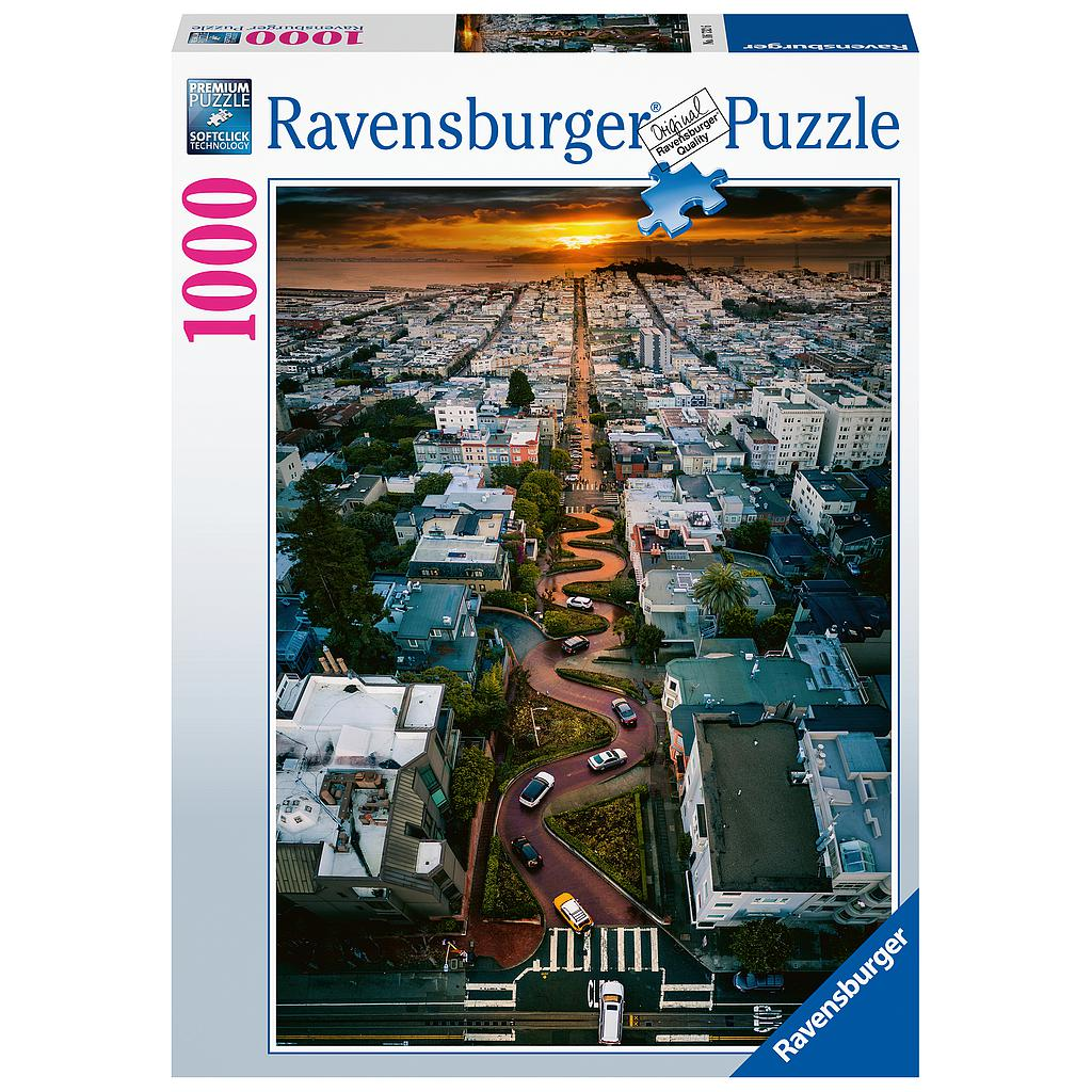 Puzzle 1000 pc San Francisco Lombard Street