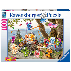 Ravensburger Puzzle 1000 pc Let's have a picnic