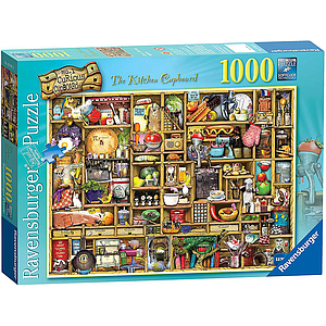 Ravensburger Puzzle 1000 pc The Curious Cupboard