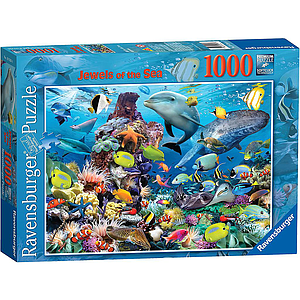Ravensburger Puzzle 1000 pc Jewels of the Sea