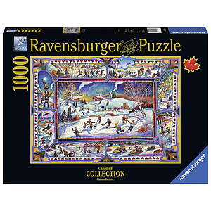 Ravensburger Puzzle 1000 pc Canadian Winter