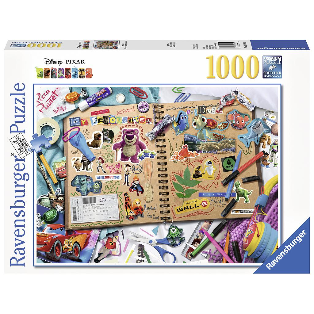 Ravensburger Puzzle 1000 pc Disney Pixar Scrapbook