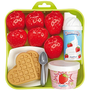 Ecoiffier Strawberry Tray
