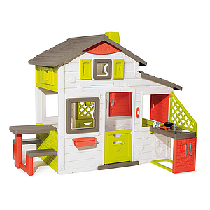 Smoby Neo Friends House + kitchen playhouse