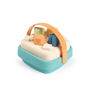 SMOBY GREEN SHAPE SORTER BASKET