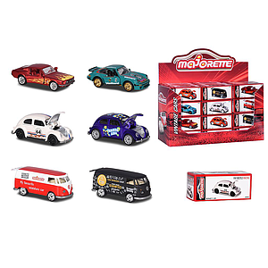 Majorette Vintage Cars, 8 different
