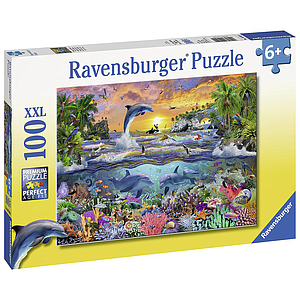 Ravensburger Puzzle 100 pc Tropical Paradise