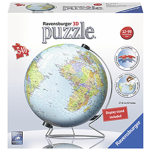 Ravensburger 3D Puzzle Ball 540 pc World Globe