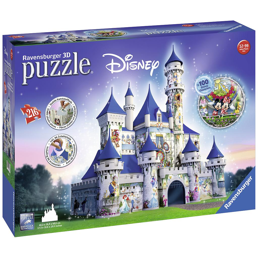 Ravensburger 3D pusle 216 tk Disney loss