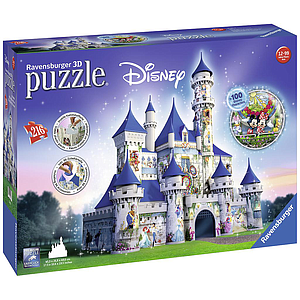 Ravensburger 3D pusle Disney loss 216 tk